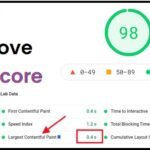 how to improve lcp score in hindi 2021