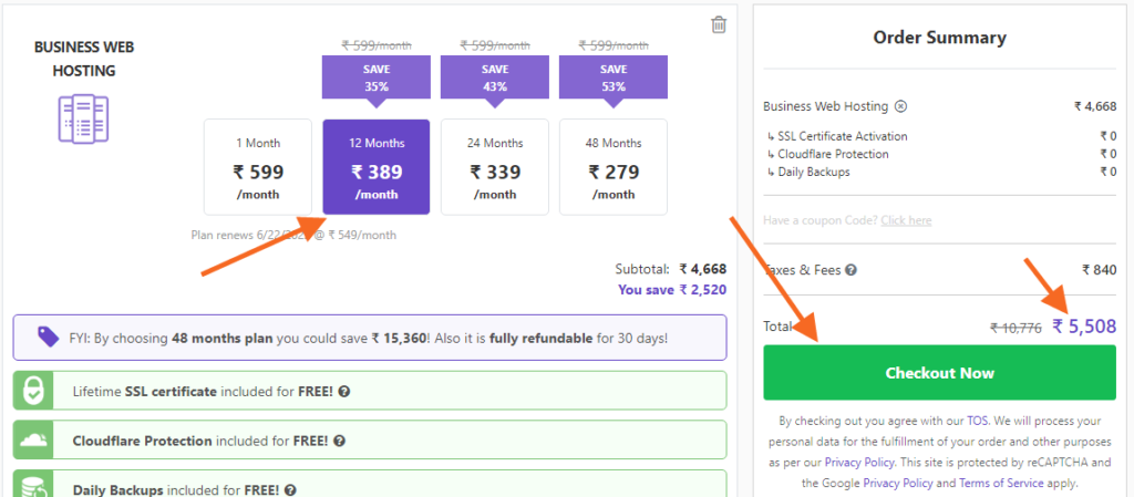 hosting kaise kharide how to make a wordpress blog hindi